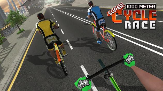 Track Cycling BMX Bicycle 1000 Meter Fun Ride apk screenshot