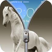 Horse Zipper screen wallpaper icon