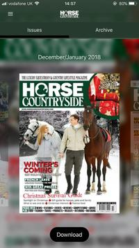 Horse & Countryside Magazine poster