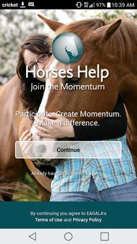 Horses Help poster