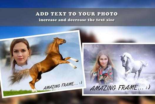 Horse Photo Frame apk screenshot