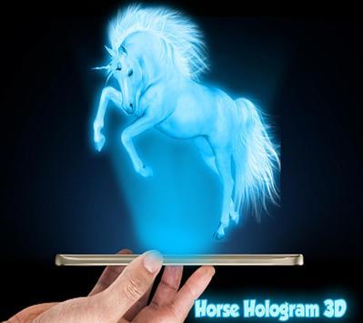 Horses 3D Hologram Joke apk screenshot