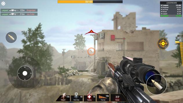 子弹撞击:狙击手游戏-免费玩家对战玩家射击游戏 截图 7