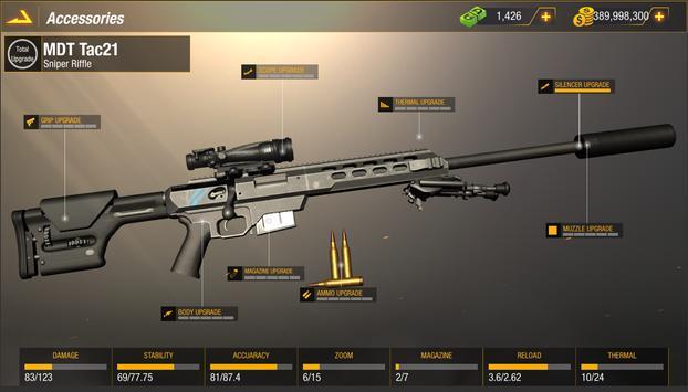 子弹撞击:狙击手游戏-免费玩家对战玩家射击游戏 截图 8