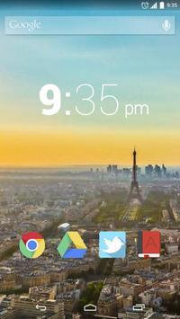 Paris Night Live Wallpaper screenshot 2
