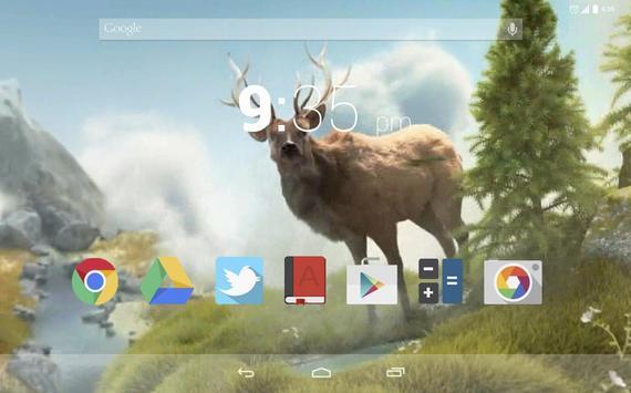 Wild Elk Live Wallpaper apk screenshot