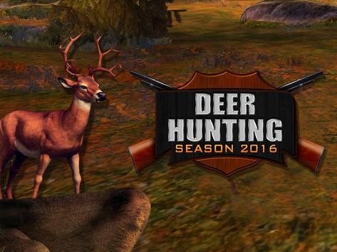 3D Deer Hunting Season 2016 apk screenshot
