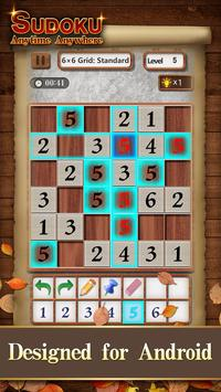 Sudoku Wood: Daily Number Puzzles for Brain screenshot 3