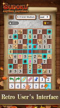 Sudoku Wood: Daily Number Puzzles for Brain screenshot 1