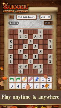 Sudoku Wood: Daily Number Puzzles for Brain screenshot 2