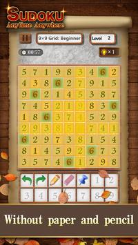 Sudoku Wood: Daily Number Puzzles for Brain screenshot 4