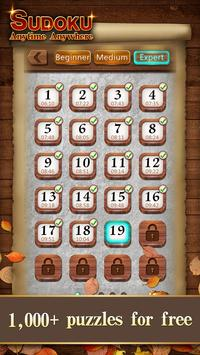 Sudoku Wood: Daily Number Puzzles for Brain screenshot 5