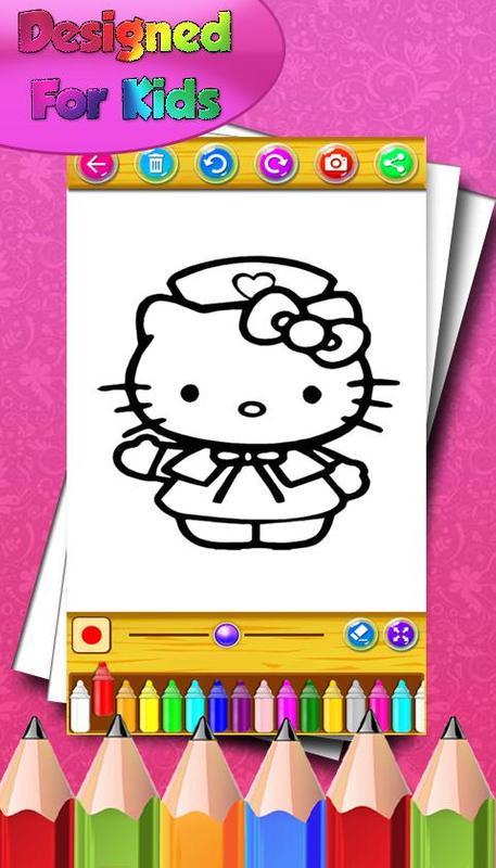 Cómo colorear a Kitty para los fanáticos for Android - APK Download