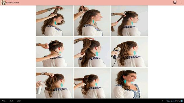 How to Curl Hair apk screenshot