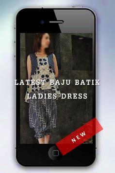Baju Batik Ladies Dress 2018 screenshot 5