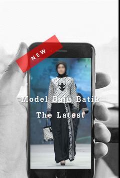 Latest Baju Batik 2018 screenshot 1