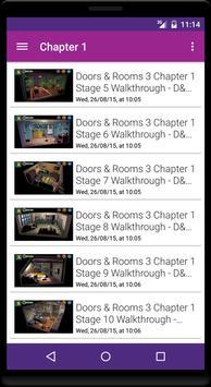Guide for Doors and Rooms 3 apk screenshot
