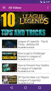 Strat Vids for League Legends poster
