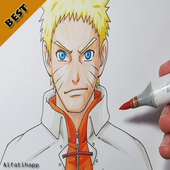 How to Draw : Naruto Characters icon