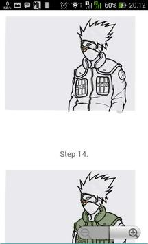 How to Draw : Naruto Characters screenshot 3