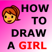 HOW TO DRAW A GIRL icon