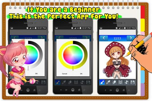 How To Draw Anime Manga apk screenshot