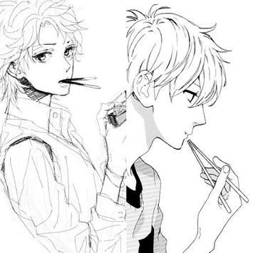 How to draw anime boys apk screenshot