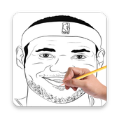 How To Draw Basketball Stars icon
