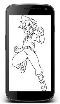 How To Draw Beyblade Characters screenshot 1