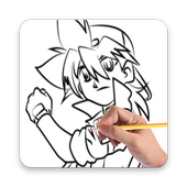 How To Draw Beyblade Characters icon
