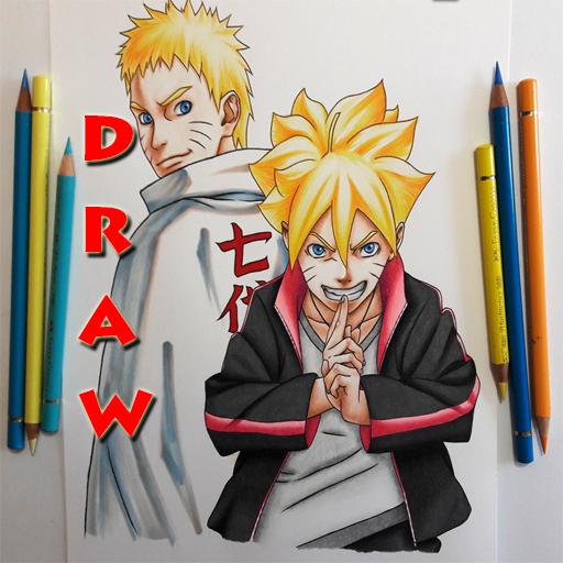 How to Draw : Boruto