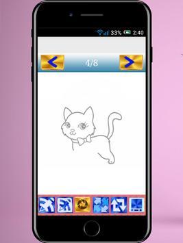 draw a cat step by step screenshot 3
