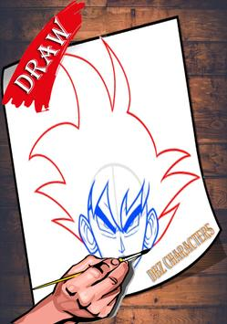 How To Draw DBZ Characters 2 screenshot 2