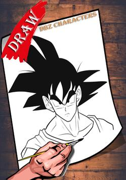 How To Draw DBZ Characters 2 screenshot 3