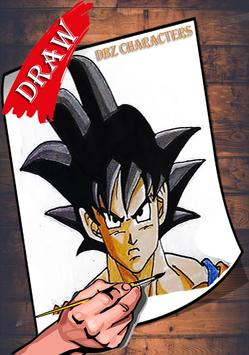 How To Draw DBZ Characters 2 screenshot 5
