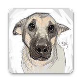 How to Draw Dog icon