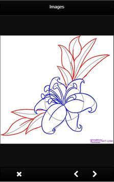 How to Draw Flowers screenshot 12