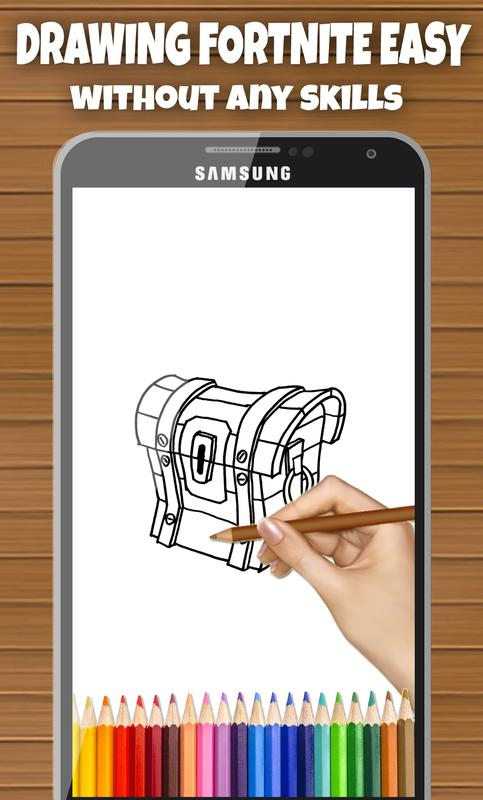 How To Draw Fortnite Battle Royale For Android Apk Download