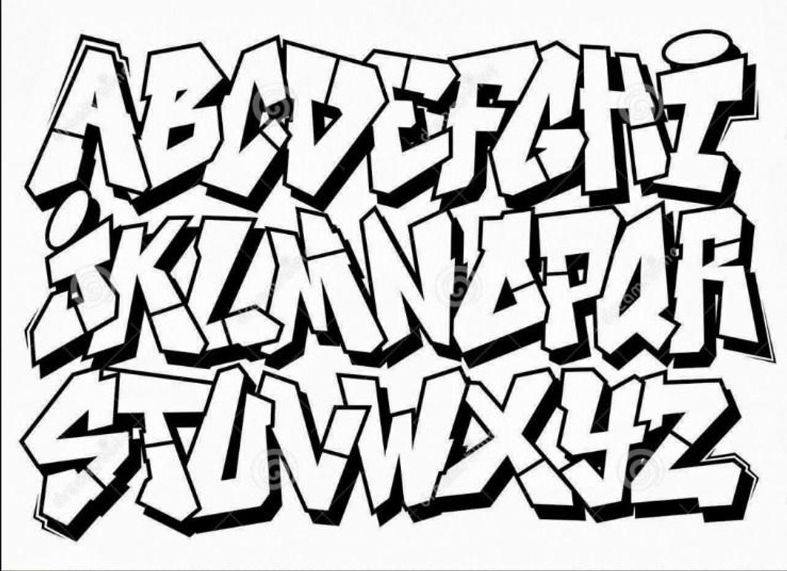 Make Graffiti Letters