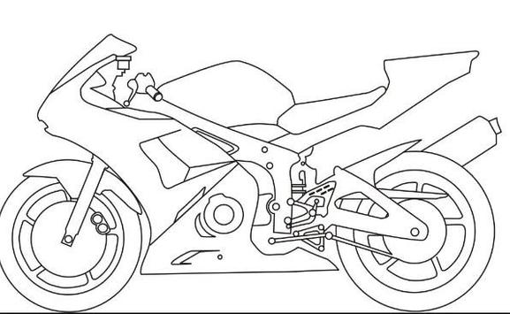 How to Draw Motorcycle screenshot 1