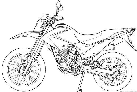 Como Desenhar Motocicleta Para Iniciante E Crian Para Android