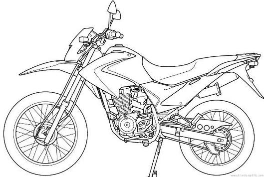 How to Draw Motorcycle screenshot 2