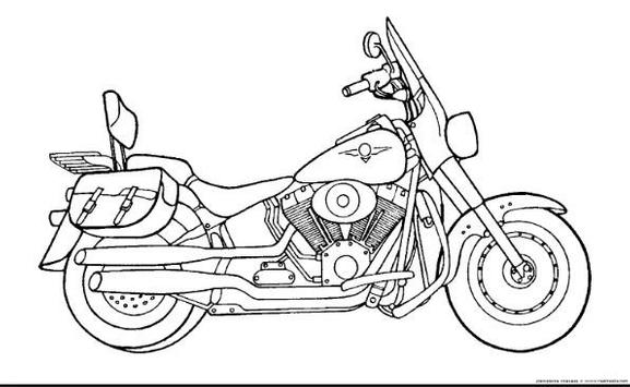 How to Draw Motorcycle screenshot 6