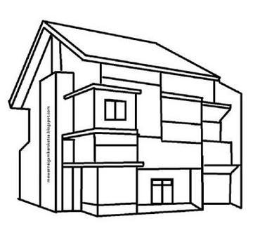 how to draw house easy way screenshot 1