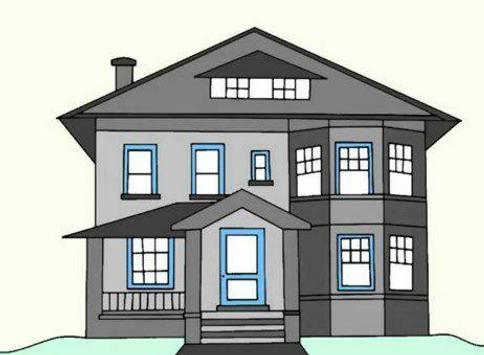 how to draw house easy way screenshot 2