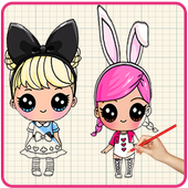 How To Draw Lol Surprise Dolls icon