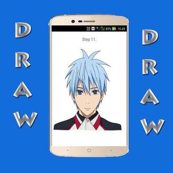 How to Draw Kuroko no Basket poster