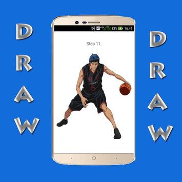 How to Draw Kuroko no Basket screenshot 1
