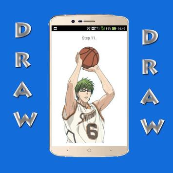 How to Draw Kuroko no Basket screenshot 2