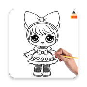 How To Draw LOL Surprise Doll